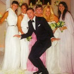 Jessica Biel wedding bridesmaids