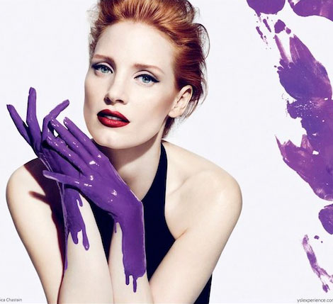 Have You Seen Jessica Chastain's Yves Saint Laurent Manifesto Ad?