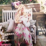 Jessica Simpson with baby girl in People