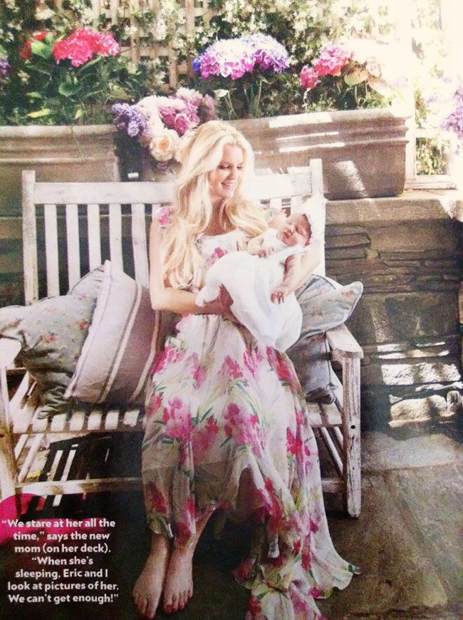 Jessica Simpson Introducing Baby Girl Maxwell In People Magazine