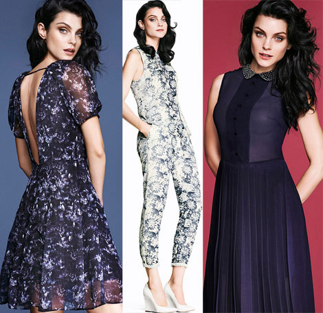 Jessica Stam H and M trends update Fall