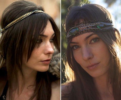 Jewelry For Your Hair Dauphines New York necklace headbands
