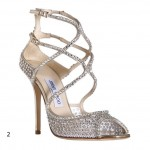 Jimmy Choo Swarovski Crystals Sandals
