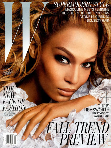 Joan Smalls W Magazine July 2012 cover