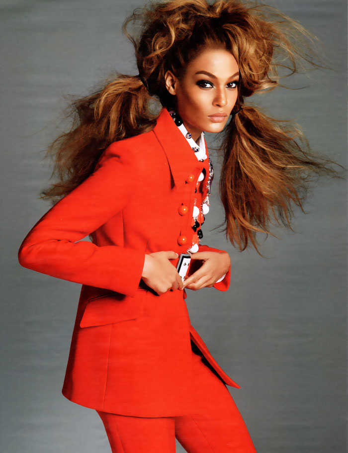 Joan Smalls W Magazine photographed by Steven Meisel