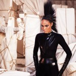 Joan Smalls for Mercedes Ad Campaign by Mario Testino