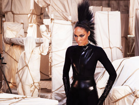 Joan Smalls's Impressive Hairdo For Mercedes Benz Spring 2013 Ad Campaign