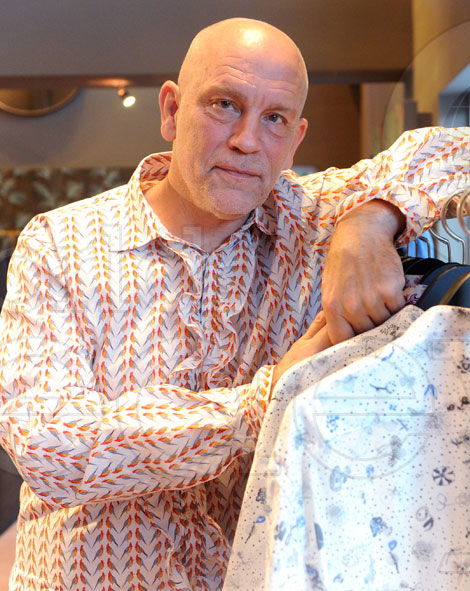 John Malkovich Opificio JM Clothing New Store