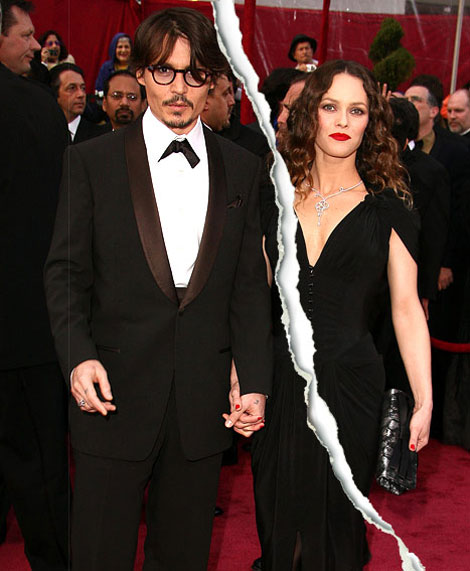 Confirmed: Johnny Depp And Vanessa Paradis No Longer Together