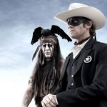 Johnny Depp as The Lone Ranger Tonto