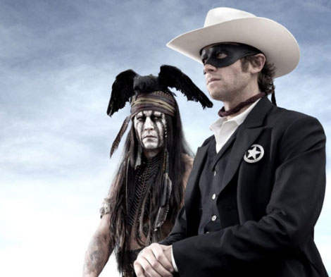 Johnny Depp Is Tonto In Verbinski's Lone Ranger
