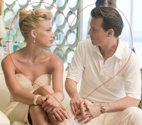 Johnny Depp's New Girlfriend: Amber Heard?
