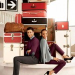 Jourdan Dunn Noah Mills Banana Republic Fall 2012 ad campaign