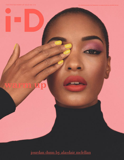 Jourdan Dunn Is Flawless On The Cover Of i-D Winter 2011
