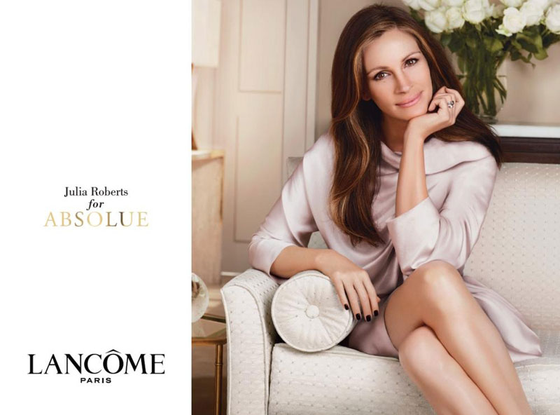Julia Roberts Absolutely Photoshopped For Lancome Absolue Campaign