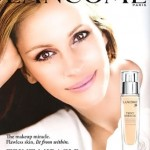 Julia Roberts Lancome ad campaign Teint Miracle