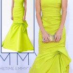 Julie Bowen Monique Lhuillier Yellow Dress 2012 Emmy Awards