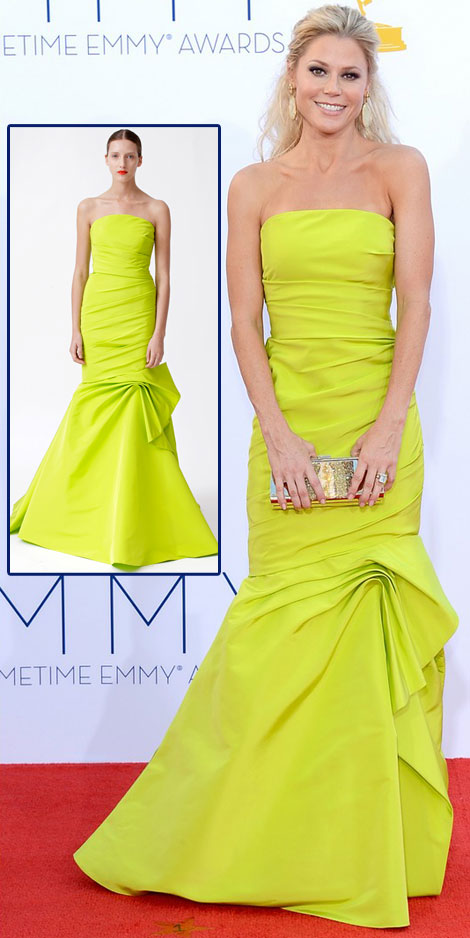 Yellow Is The New Black! Red Carpet Dresses Set The Jewel Trend For Evening Wear