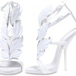 Kanye West new white shoes for Giuseppe Zanotti Cruel Summer