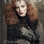 Karen Elson Vogue Italia October 2011 cover