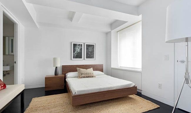 Karl Lagerfeld s home New York Apartment bedroom
