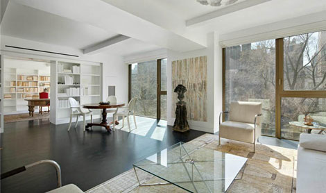 Karl Lagerfeld home NY Apartment livingroom