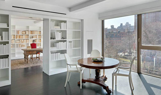 Karl Lagerfeld s home New York Apartment table