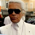 Karl Lagerfeld in Saint Tropez music video