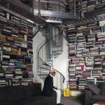 Karl Lagerfeld s books Parisian home