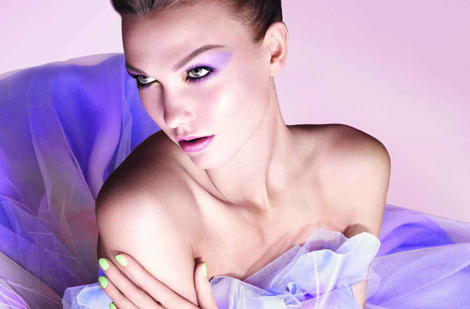 Karlie Kloss Dior Spring 2012 Beauty Ad Campaign