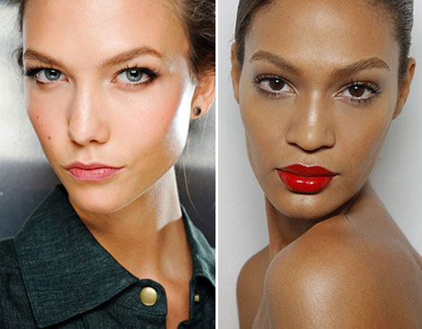 Karlie Kloss and Joan Smalls for MTV House of Style