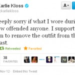 Karlie Kloss apologies for Victoria s Secret native American headdress