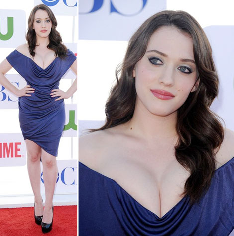 Kat Dennings' Cleavage Out Of Control. Again