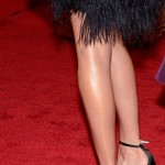 Kate Bosworth shoes clutch jewelry Met Gala 2012