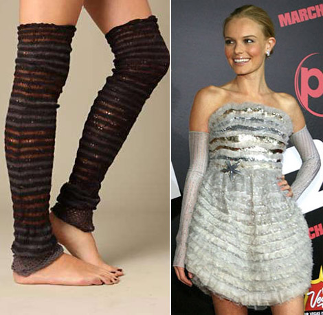 Kate Bosworth wearing arm warmers