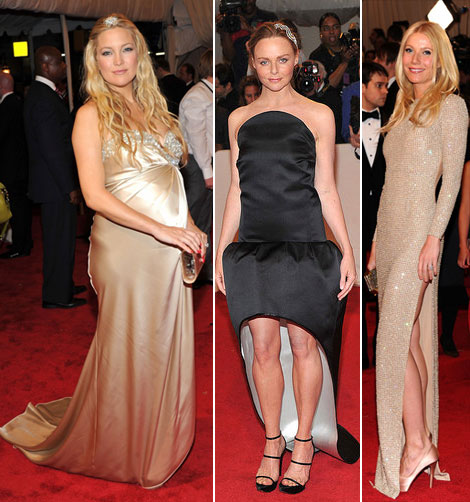 Kate Hudson Gwyneth Paltrow Stella McCartney dresses Met Gala 2011