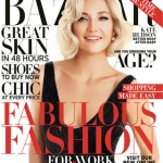 Kate Hudson Harper s Bazaar October 2012 cover