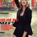 Kate Moss Elle France cover
