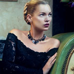 Ferragamo's Overphotoshopped Kate Moss Returns For Fall 2012 Video Campaign