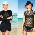 Kate Moss Harper s Bazaar June July 2012 hat pose