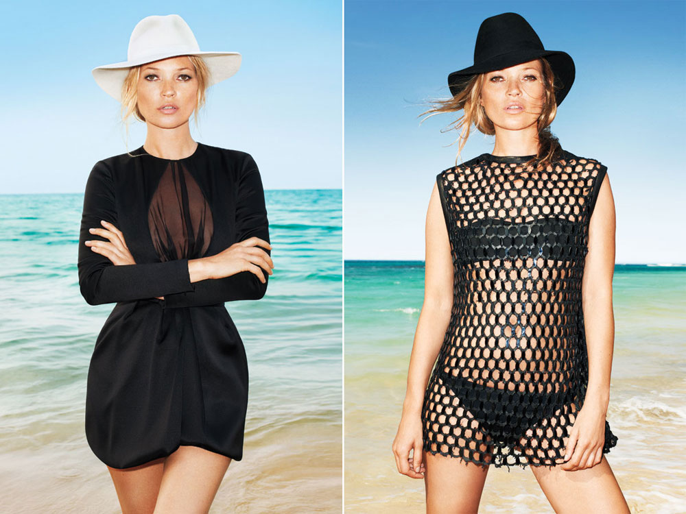 Kate Moss For Harper's Bazaar June July 2012