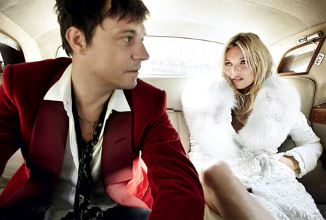 Kate Moss Jamie Hince Vogue September 2011 Testino
