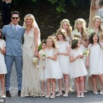 Kate Moss Jamie Hince wedding 16 bridesmaids