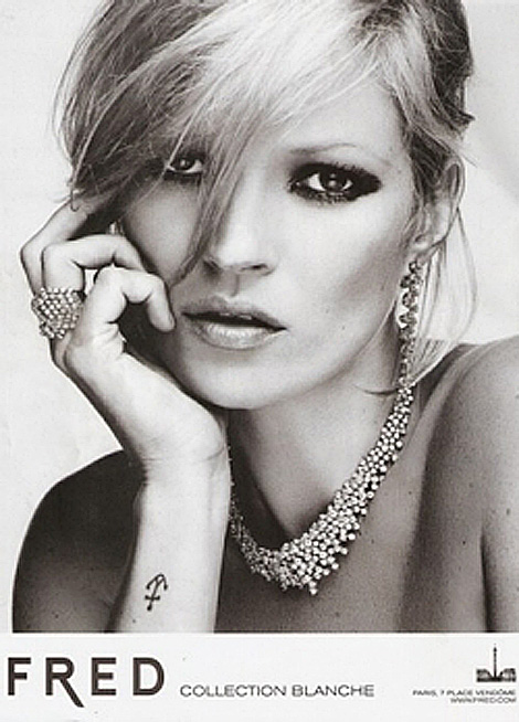 Kate Moss Jewelry collection Fred jewelry
