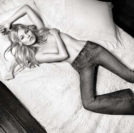 Kate Moss Paralyzed. Wait, What?