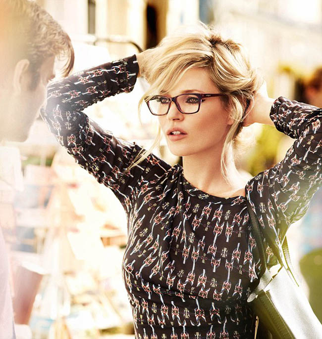 Kate Moss Vogue eyewear 2012