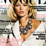 Kate Moss Vogue UK September 2009 cover large