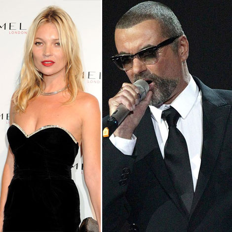 Kate Moss appearing in one of George Michael s videos