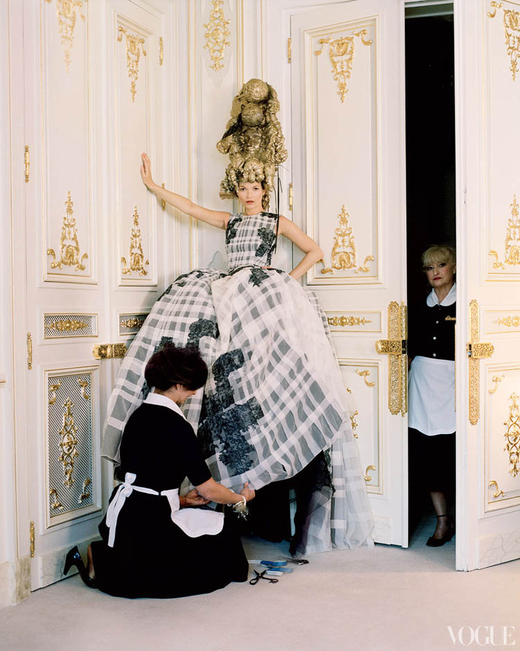 Kate Moss Photographed By Tim Walker At The Ritz For Vogue
