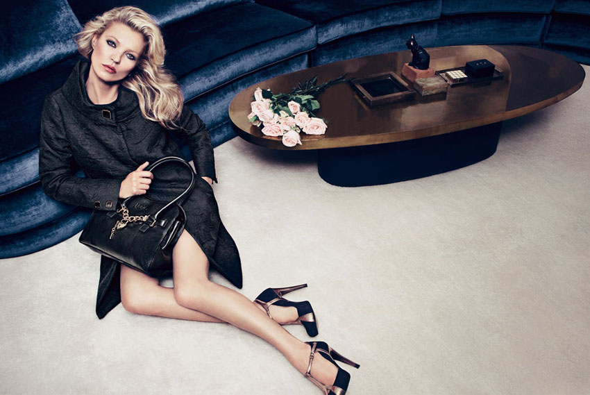 Kate Moss fall 2012 ad campaign Liu Jo